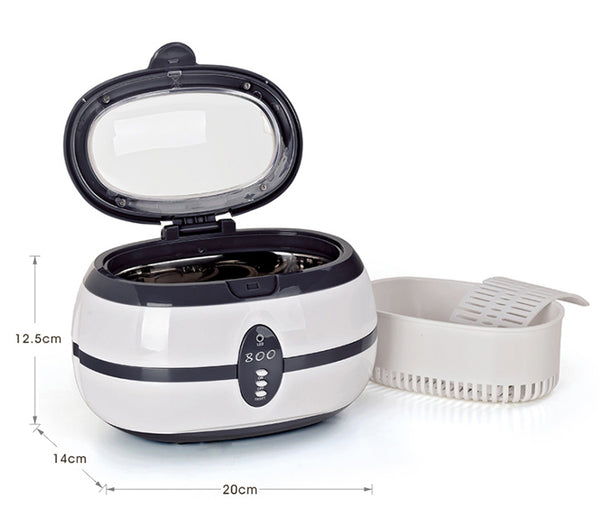 Professional Ultrasonic Cleaner with Digital Timer for Eyeglasses, Rings, Jewelry, Watch and More
