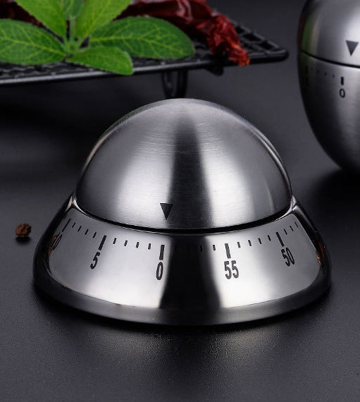 Mechanical Magnetic 55-Minute Visual Countdown Timer With Alarm