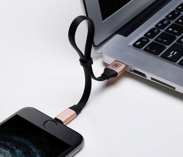 Genius Charging Cable Works on Both iOS and Android Devices