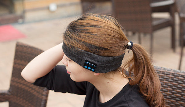 Coolest Wireless Bluetooth Headband For Music Runners