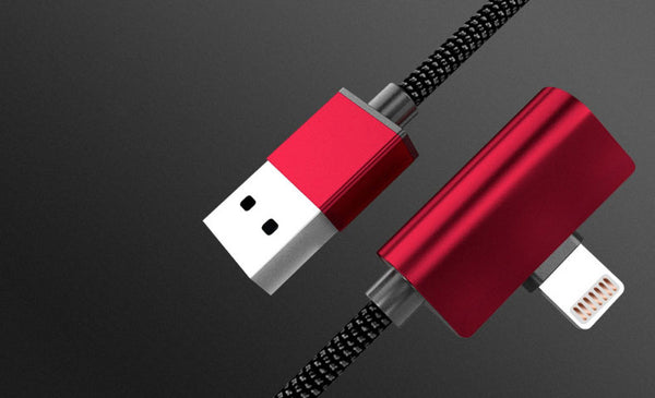 Get Rid of the Charge-or-Listen Dilemma with 3-in-1 L-shaped Reversible Lightning Cable