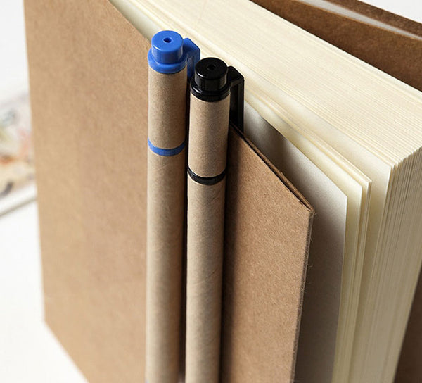 Recyclable Kraft Paper Gel Pen