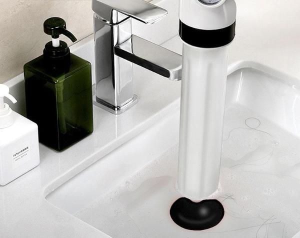 Unclog Drains Instantly with Fully Automated 4-in-1 Plunger
