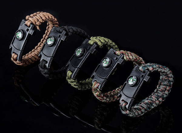 The Coolest Outdoor Survival Bracelet