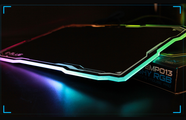 The Most Amazing Professional Colorful Flashing Mouse Pad