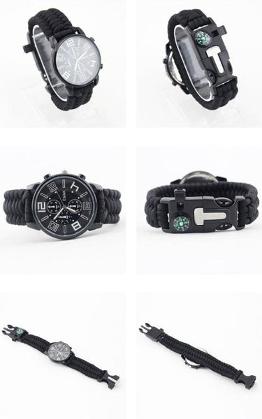 Have the Time and Everything Else You Need with Mechanical Survival Watch
