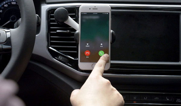 360° Rotatable Car Vent Phone Mount That Keeps Your Phone Away from Cool or Hot Air