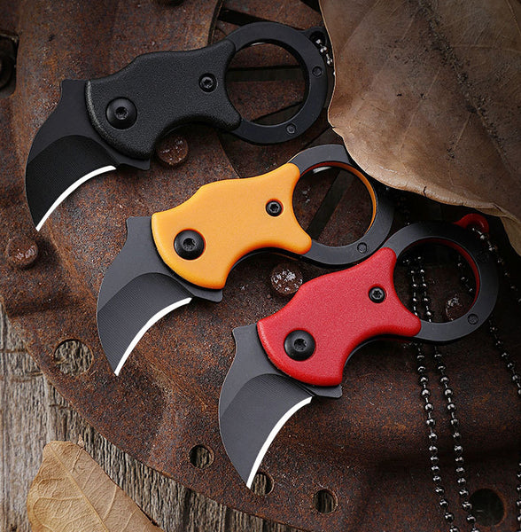 EDC Mini Foldable Sharp Pocket Knife, For Self Defense, Outdoor, Opening Box & More