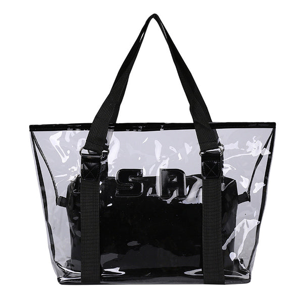 Show Your Fun Stuff off with Clear Shoulder Bag