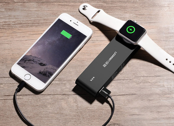 Best MFI Certified Power Bank With Wireless Charging Dock For Apple Watch