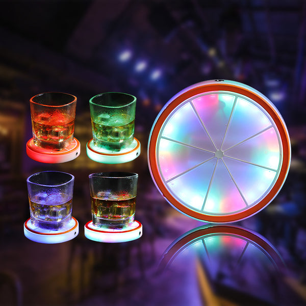 Light Your Glass, Light Your Life -- LED Cup Coaster