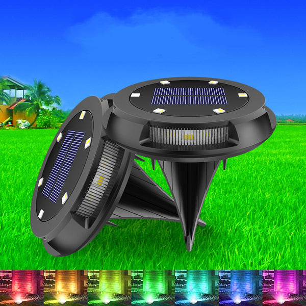 Outdoor Solar LED Light, with Stick-style, Durable and Attractive Design, for Lawn, Driveway, Garden & More