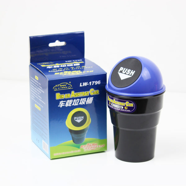 All-in-One Car Mini Trash Bin, Also For Office & Home