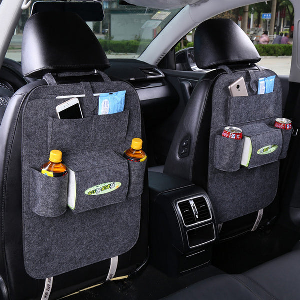 Go Much Smoother With This All-In-One Car Backseat Organizer