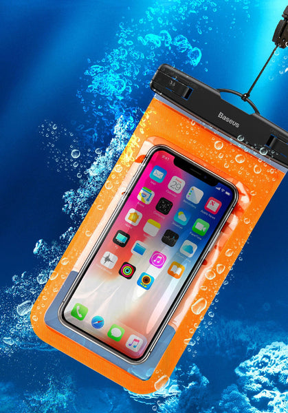 Transparent Waterproof Phone Pouch - Dive into Water with Your Phone