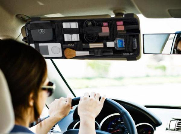 Clean up the Front and Back Seat with Ultra Visor Organizer