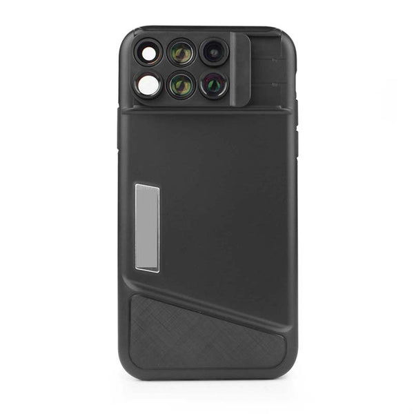 6-in-1 Lens Case That Makes Your iPhone a Serious Camera - Always Shoot Like a Pro