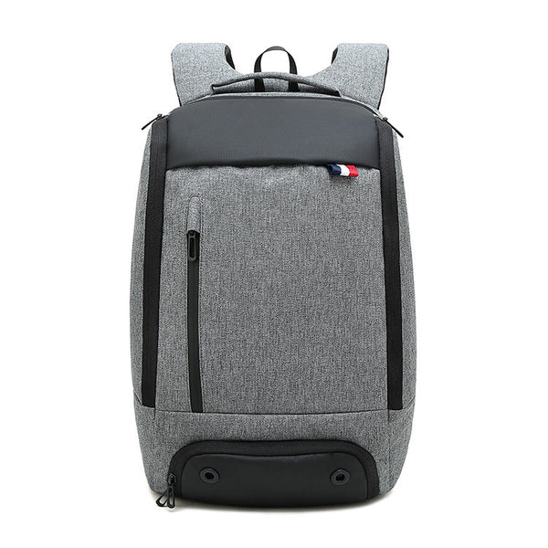 Large Capacity Backpack With Shoes Compartment & Separate Wet Pocket For Sport, Hiking & More