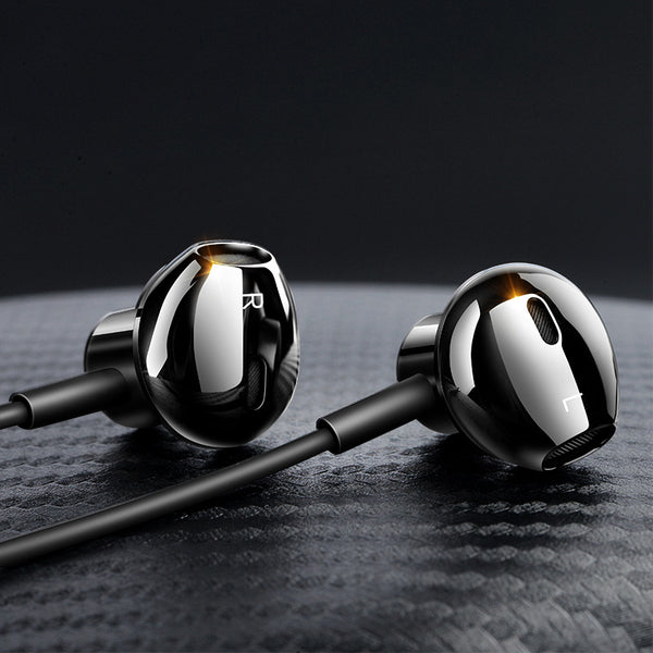 Wired In-ear Headphone with Microphone and Wire Control, for Music, Video and Game