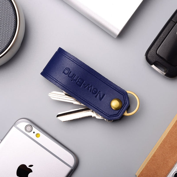The Most Convenient Key Management Holder Made of First Layer Nappa Leather