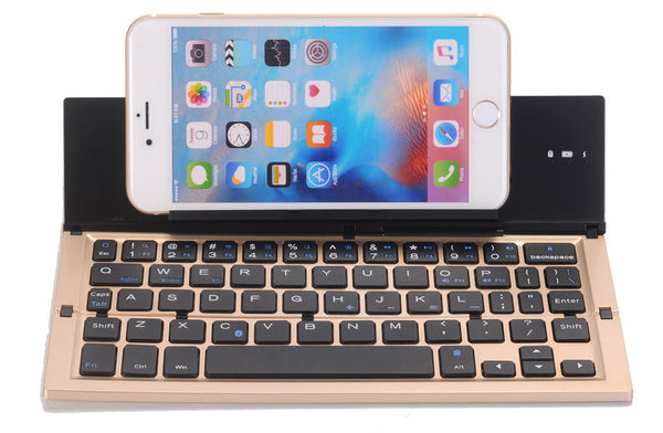 Folding Bluetooth Keyboard For iOS/Android/Windows - Type On The Go