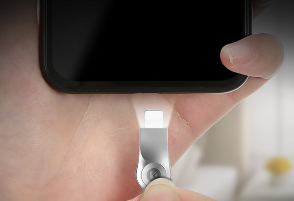 Glow-in-the-dark Lightning Cable That Brings Charging to Life