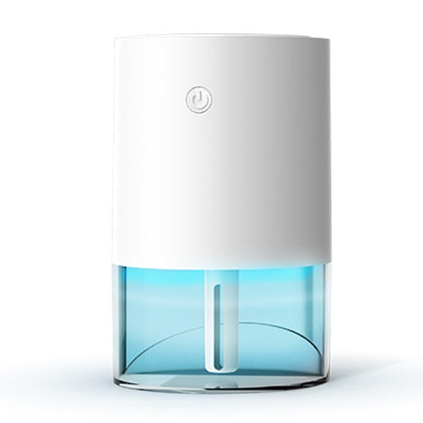 Portable Rechargeable Humidifier, with LED Light, Fine Mist & Quiet Operation, for Bedroom, Desk, Car & More
