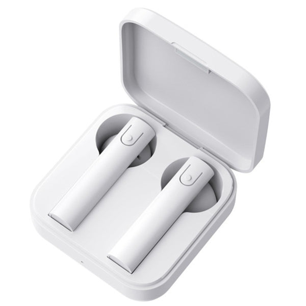 TWS Semi-in-ear True Wireless Stereo Bluetooth Earbuds, Compatible with iPhone 12, Huawei & More