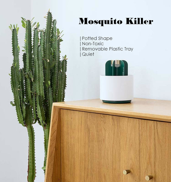 Cactus Shaped Electronic Mosquito Killer For Home, Bedroom, Kitchen & Office