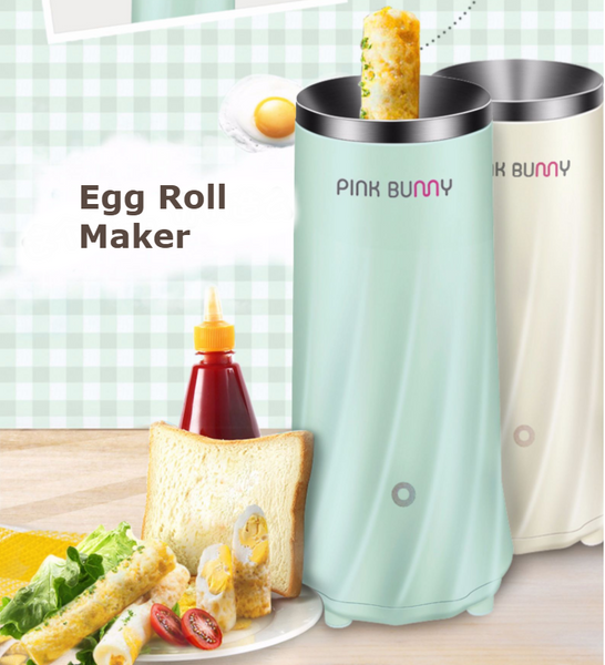 Electric Mini Breakfast Egg Roll/Omelette Maker, Fast and Durable,Suitable For Children and Elderly
