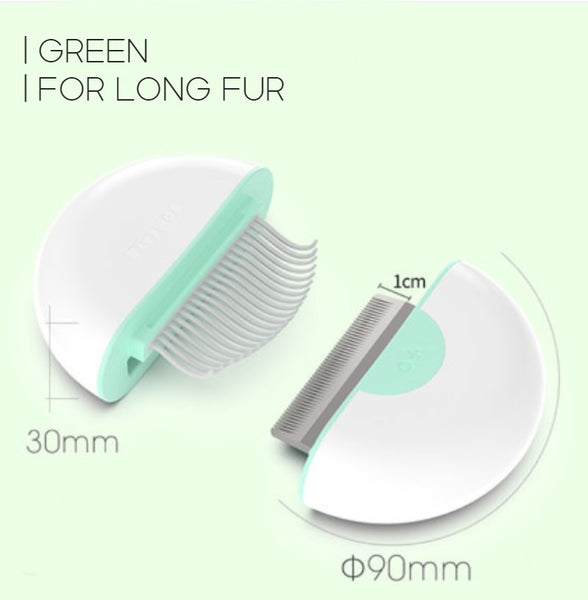 Multifunctional Pet Comb, with Convenient Storage, Grab the Floating Hair, Untie the Knot, Massage and Relieve Itching, for Long and Short Fur