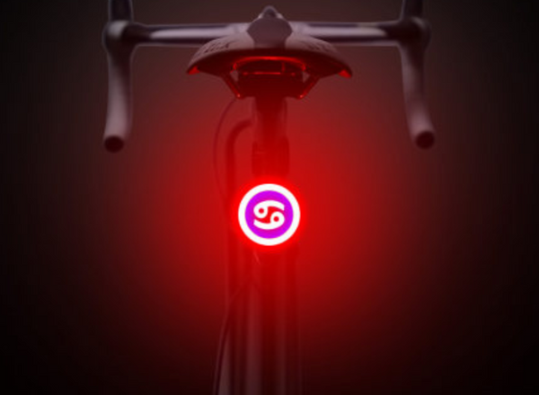 Ultra Bright USB Rechargeable Bike Tail Light, with Red Flash High-Intensity Led and 5 Light Modes, for Cycling Safety