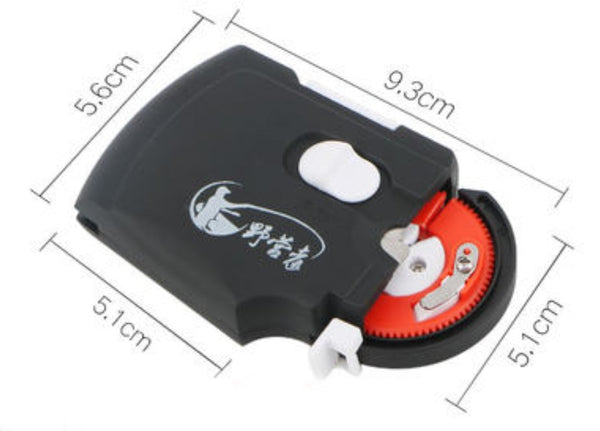 Rechargeable Electric Automatic Fishing Hook Tier, with Stable and Silent Motor and Portable Design, for Fishing Enthusiasts