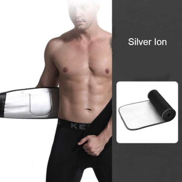 Workout Waist Trimmer, with Steel Bone, Support Springs and Breathable Design, for Training, Exercising, Body Shaping and More