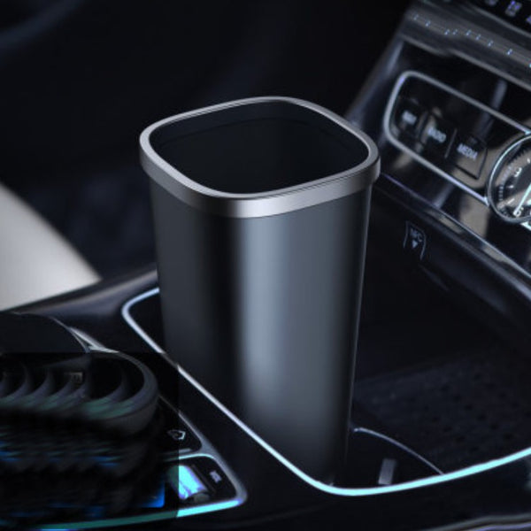 Cup Holder Car Trash Can, with Large Capacity & Leakage-proof Design, for Car, Home & Office