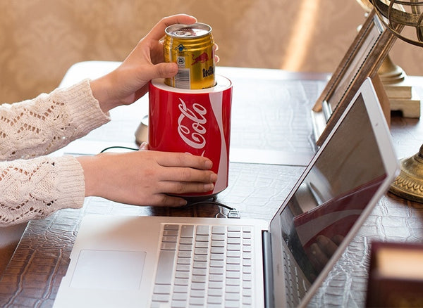 Coolest Portable USB Powered Cooler to Chill Your Drinks