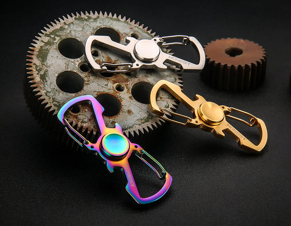Portable Multi-function Spinner For Your Keychain