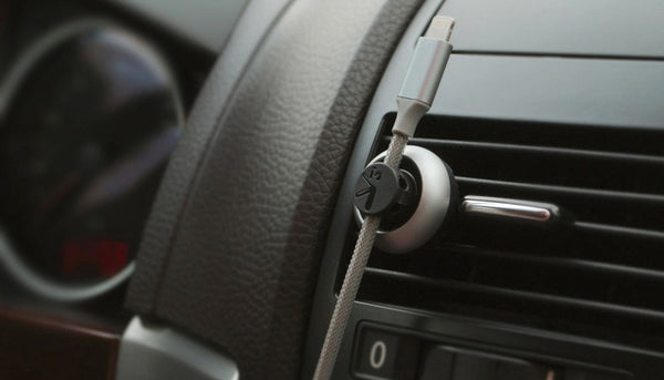 2-in-1 Cable Management Holder & Air Freshener for Your Car