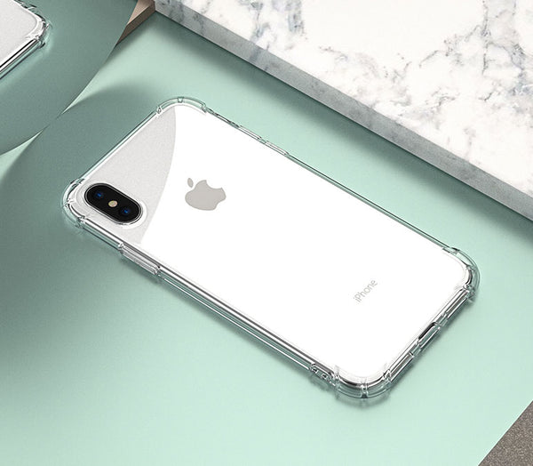 Crystal Clear Airbag Case for iPhoneX - Stay Safe in Any Shock