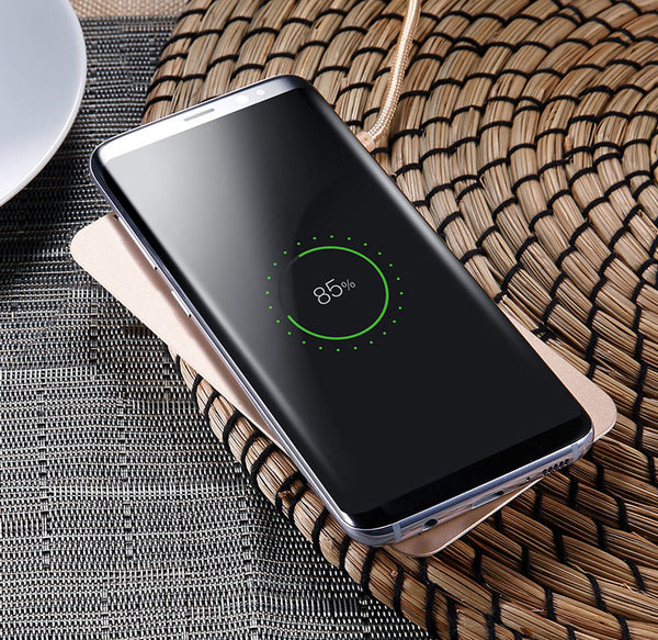 Dual Coil Wireless Charger & Stand For All Qi Enabled Phones