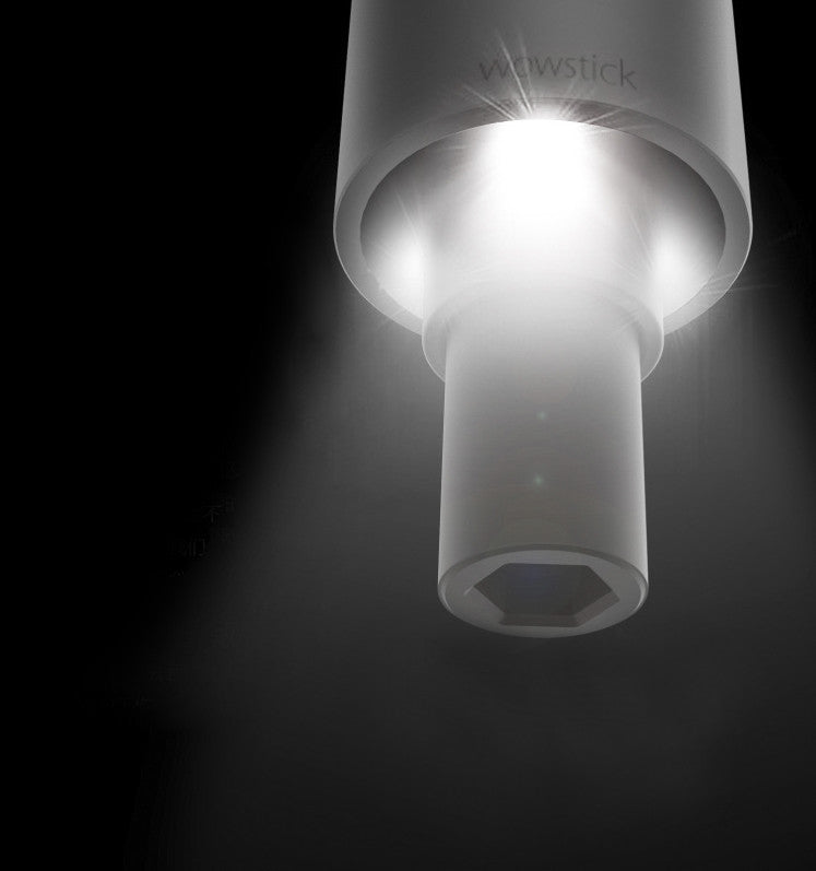a close up of a lamp