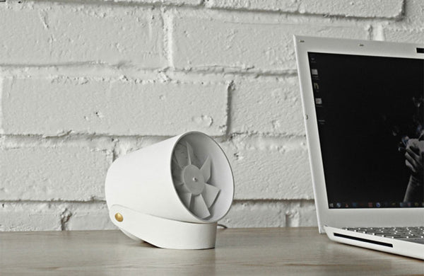 Whisper-quiet USB Powered Portable Fan - Touch to Enjoy Soft Breeze