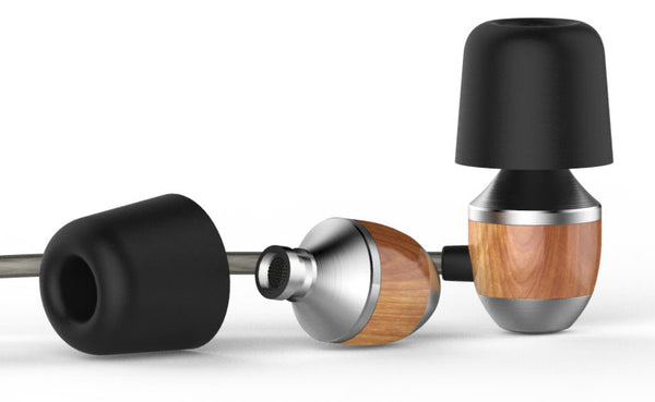 Classy Extra Bass Wood Earphone - A Symbol Of Nature For Music Lovers