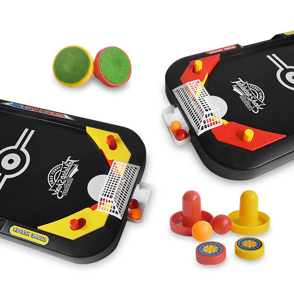 2-in-1 Portable Casual Decompression Board Game, Including Traditional Hockey & Fast Action Soccer, Suitable for the Relaxation After Work & Study