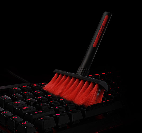 2-Tip Keyboard Cleaning Brush With Keycap Puller/Remover For Switches & Mechanical Keyboard