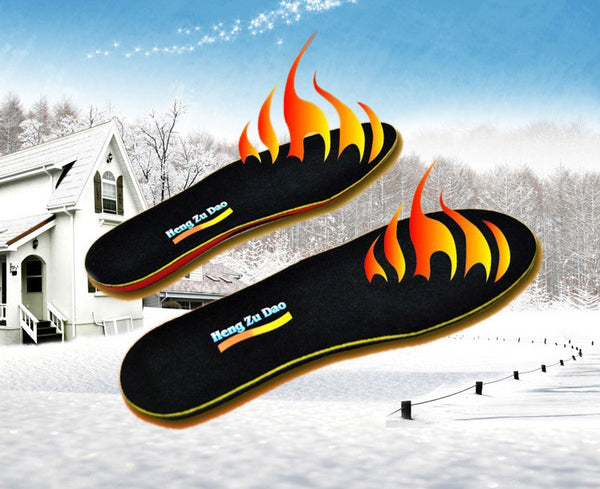 Keep Your Toes Toasty with Battery Heated Rechargeable Insoles