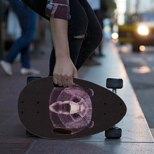 First & Easiest Skateboard for Everyone - As Easy as Riding a Bike