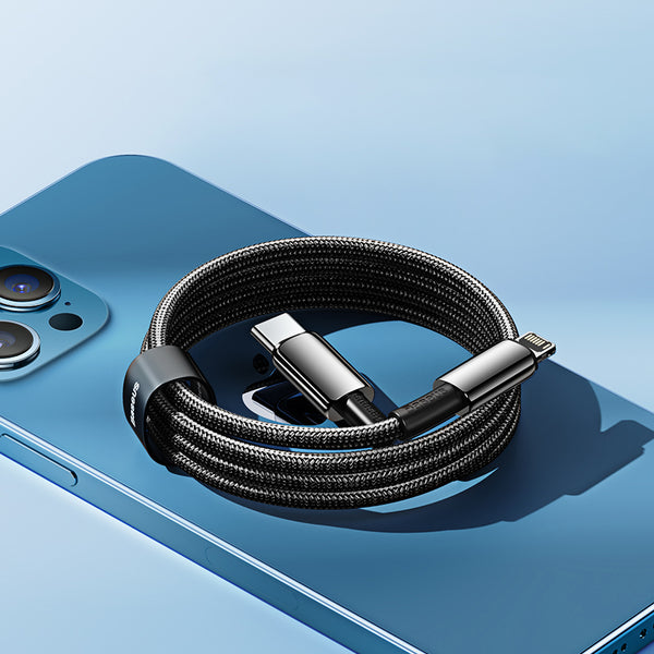20W PD Fast Charging Cable (Type-C to Lightning), Support Data Transmission, for iPhone 12/12 mini/12 Pro/12 Pro Max & More