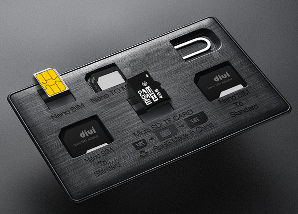 Store All Your SIM & Memory Cards in One Case