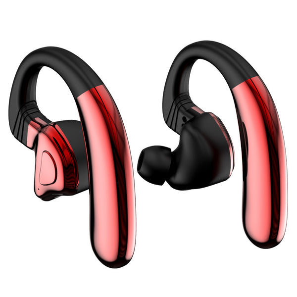 Bluetooth 5.0 Hi-Fi Wireless Headphones, Support Single-Ear Use & Detachable Battery, For Gym, Workout, Running, Travel, Work & Movies